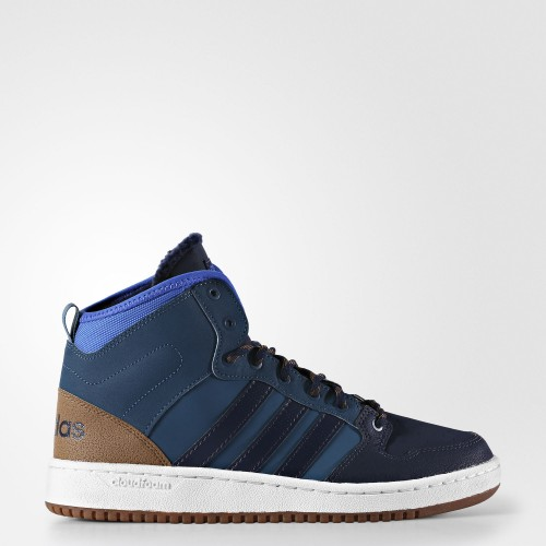 Кроссовки Adidas Cloudfoam Hoops Winter Mid AC7791